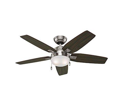 Hunter Antero 46 In Brushed Nickel Indoor Ceiling Fan