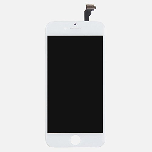 LCD display Touch Screen Digitizer Assembly for iPhone 6 (4.7') with free tools (White)