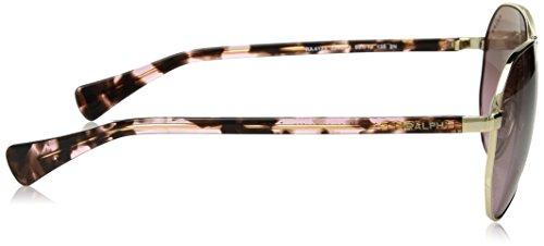 Women's Ralph Light Ra4123 Sunglasses Gold 077dvxqH