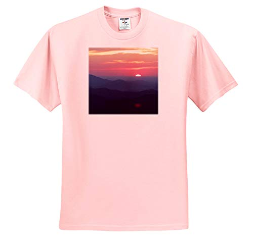- Stamp City - Landscape - Photo of a Breathtaking Sunrise Overlooking The Blue Ridge Mountains. - T-Shirts - Toddler Light-Pink-T-Shirt (4T) (ts_307982_49)