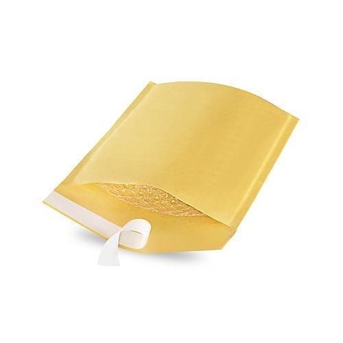ULINE S-13944 Self-Seal Uline Kraft DVD Bubble Mailers