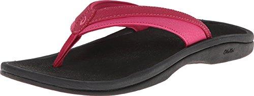 OLUKAI Women's Ohana Sandal, Punch/Ice, 8 M US (Best Rated Flip Flops)