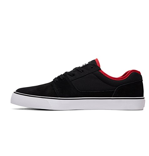 D0302905 SHOE hombre DC Shoes Zapatillas de Athletic Black Black ante TONIK para Red tqZnOn8Exw