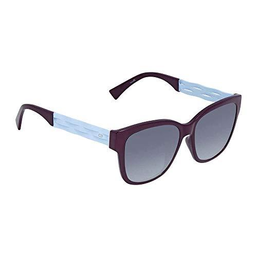 Dior DIORRIBBON1NS-0UHC Violet Blue-55mm (Dior Sonnenbrillen Männer)