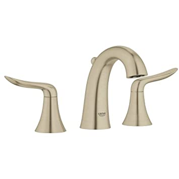 Grohe 20 425 A Agira Widespread Bathroom Faucet with SilkMove and ...