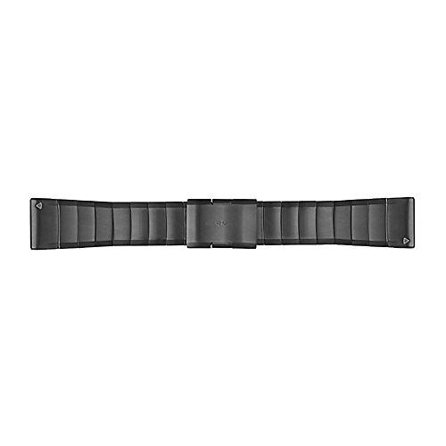 Garmin fenix 5X QuickFit Bands (26mm) Slate Grey Stainless Steel by Garmin