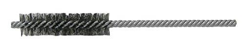 Weiler 21342 Power Tube Brush, Double Stem/Double Spiral, 3/8