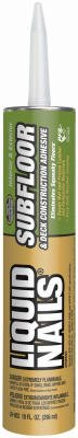 Liquid Nails/Ppg Arch Fin LN-602 10-oz. Subfloor & Decks Adhesive - Quantity - Subfloor Liquid Nails