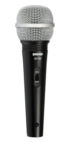 Shure SV100-W Multi-Purpose Microphone with XLR-1/4 Cable