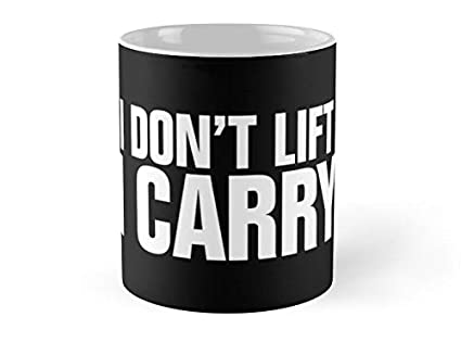 Black and white lift and carry