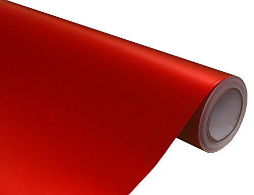 dized Red Vinyl Car Wrap 12-by-60-inch ()