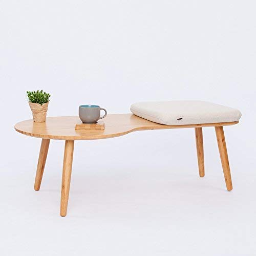 - ZEN'S BAMBOO Coffee Table Living Room Sofa Side Table Home Furniture