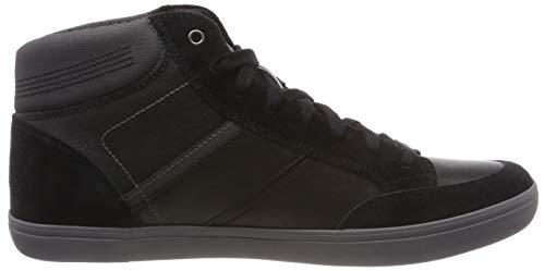 Box anthracite A Collo black C9270 Sneaker Alto Nero E Uomo Geox U 5ZqZF