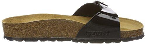 BIRKENSTOCK BIRK-40301 Madrid Leather Sandals Black P7e866l40