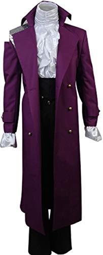 (Purple Rain Prince Rogers Nelson Cosplay Costume Full Set (M,)