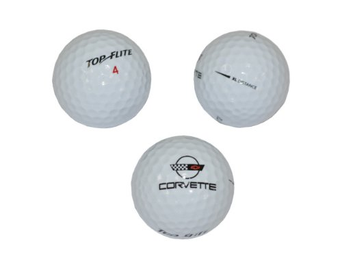 1984-1996 Corvette Golf Ball Set C4 Top Flite