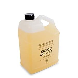 John Boos MYS128 Mystery Butcher Block Oil, 1 gal/128 oz, 1 Gallon/128 Ounce Bottle