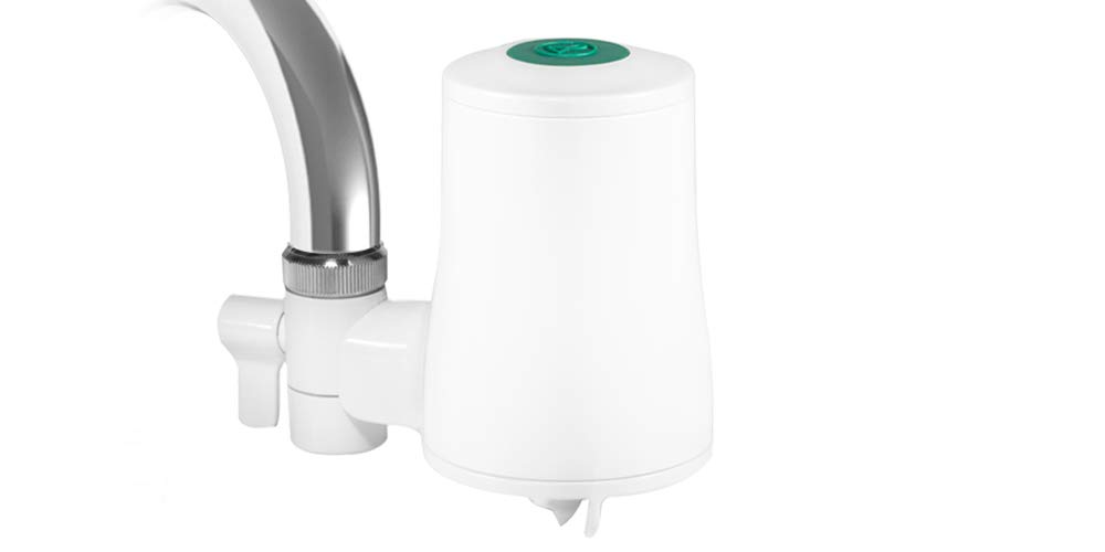 TAPP Water TAPP 2 Click - Eco-Friendly Faucet Water Filter System with Bluetooth Smartphone Connectivity (Removes Microplastics, Chlorine, Lead, etc.)