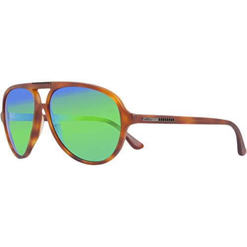 Crystal Suns Phoenix (Revo Phoenix RE 1015 12 GGN Polarized Aviator Sunglasses, Honey Tortoise, 58 mm)