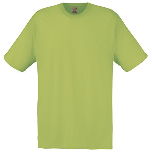T Fruit Of Loom The Large Shirt lime Homme zwqawrtA