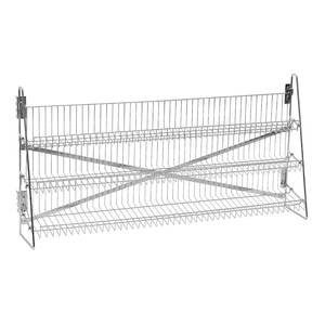 Wire Candy Snack Rack, 3 Tier, Counter or Mount, 48''W, Chrome by Retail Resource