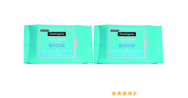 Neutrogena Hydro Boost Toallitas Hidratantes Desmaquillantes - 2 ...