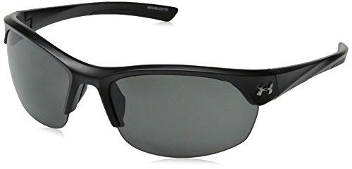 Under Armour Women's Marbella 8600066-000100 Sunglasses, Shiny Black, 62 mm
