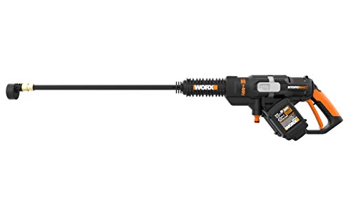 WORX WG644 40V (2.0Ah) Power Share Hydroshot Portable Power Cleaner, 2 Batteries and Charger Included