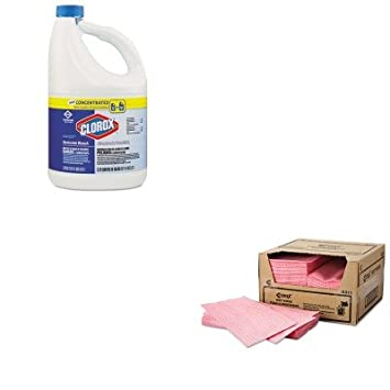 kitchi8311cox30966ct - Value Kit - Chix toallitas húmedas (chi8311) y Clorox germicida lejía (cox30966ct): Amazon.es: Oficina y papelería