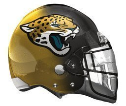 (USA Warehouse) Anagram International Jacksonville Jaguar Helmet Flat