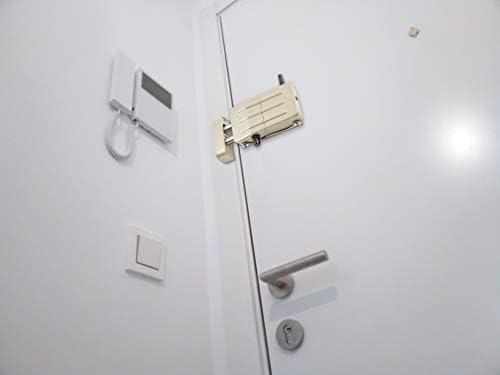 Arregui CI10D Sicherheitsschloss mit 4 Fernbedienungen goldfarben unsichtbar