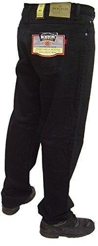 rígida 27 fuerte Azul nbsp;cintura para Pierna 30 Jeans Negro negro 64 o Boston hombre nbsp;A RqfxwZtBt