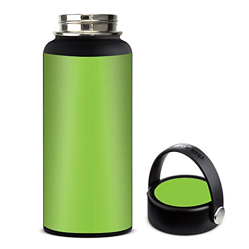 Skin Decal Vinyl Wrap for Hydro Flask 32oz Wide Mouth stickers skins cover/Lime Green