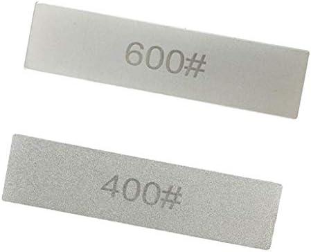 2ピース/個ダイヤモンドシャープニングストーンブロックグリット400600グリット101x25.4mm