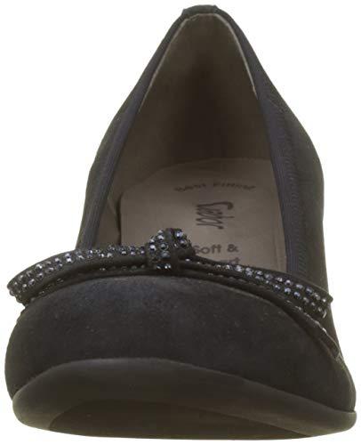 Shoes Femme Bleu Gabor Pazifik Escarpins Gabor 16 Basic 6FTAUnTg