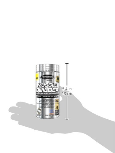 MuscleTech Pro Series Muscle Builder, Rapid Muscle Building Formula, 30 Day Supply, 30 Rapid Release Capsules …