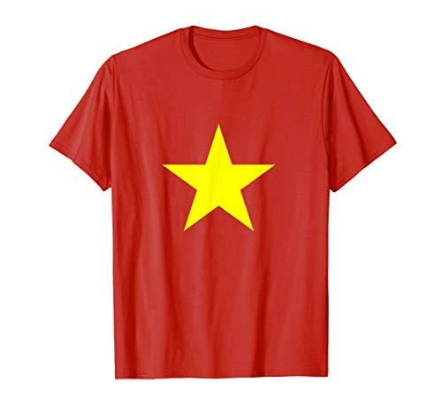 Vietnam Shirt - Vietnam Flag Yellow Star - Vietnam T Shirt