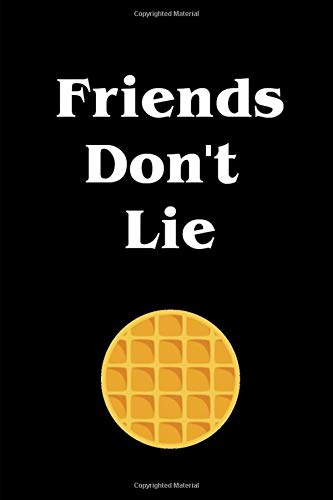 Friends Don't Lie  Stranger Things Journal Diary Notebook Perfect For Notes