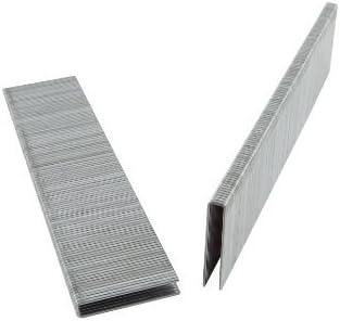 10,000 per Box Fоur Расk B/&C Eagle 71//10 3//8-Inch Length x 3//8-Inch Crown x 22 Gauge Galvanized Fine Wire Staples