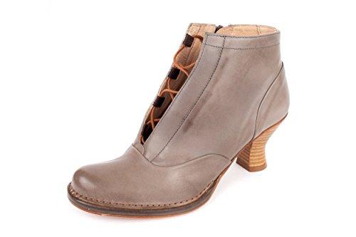 Neosens - Zapatos de cordones de Piel Lisa para mujer gris gris 37