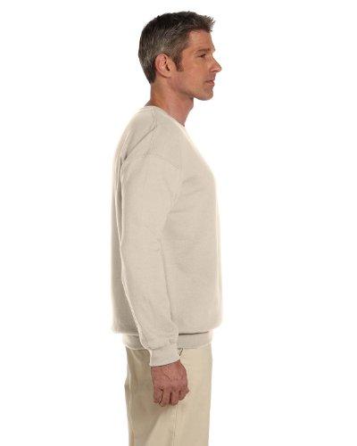 - Gildan Men's Heavy Blend Crewneck Waistband Sweatshirt, Sand, XXX-Large