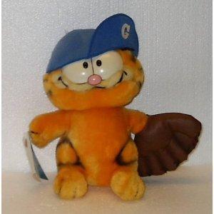 Vintage Garfield Baseball Player Plush ()
