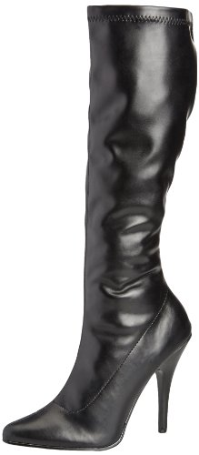 B Sed2000 Pu Boots Black Ankle Women's Pleaser zR5CUTqww