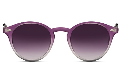 Cheapass Sunglasses Lunettes Rondes Noir Rétro Femmes Hommes LDSCOs3n0E