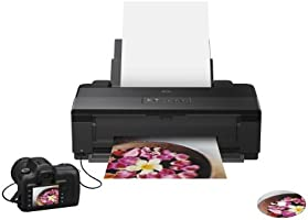 Epson Stylus Photo 1500W - Impresora fotográfica (5760 x 1440 dpi, Batería, LAN inalámbrica, 50/60 Hz, 10 x 15 cm, Compatible con Mac OS y Windows), ...