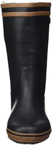 Aigle Malouine Fur, Botas de Nieve para Mujer Negro (Noir/camel)