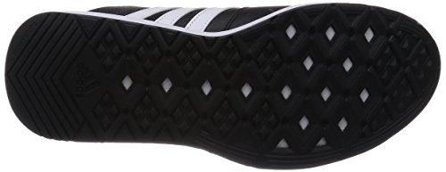 adidas Essential Star .2 - Zapatillas de cross training para hombre Negro / Blanco / Gris