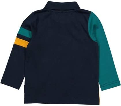 Polarn O Baby Pyret Color Block Rugby Shirt