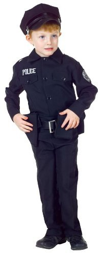[POLICEMAN SET MD (6-8)] (Policeman Uniform)