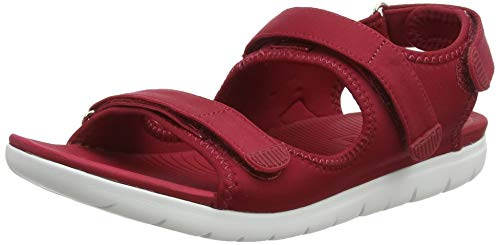 Neoflex Rouge Ouvert 639 Femme FitFlop Sandals Back Royal Strap Red Bout PFfUwxq